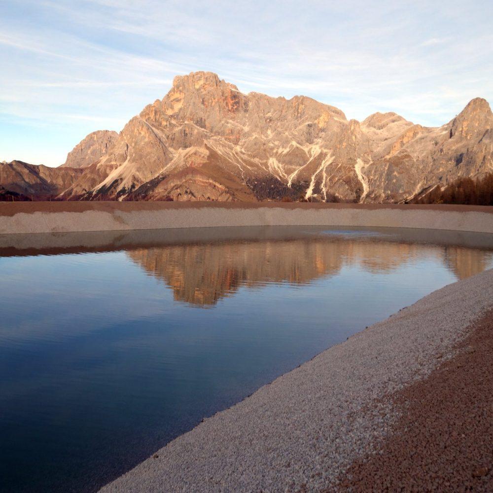 Ampliamento bacino di accumulo ad uso innevamento Alpe Tognola