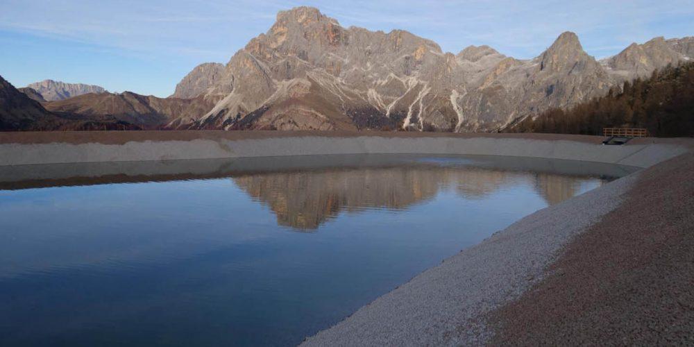 Ampliamento bacino e impianto di innevamento Alpe Tognola