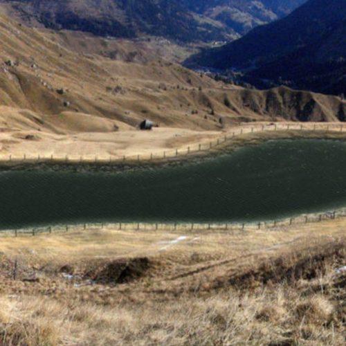 Nuovo bacino di accumulo Passo Pordoi