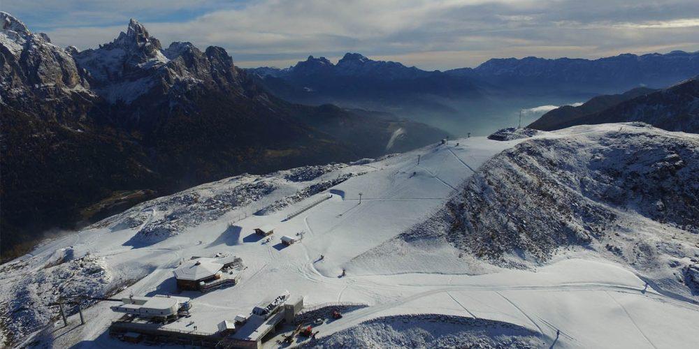 Adeguamento aree sciabili Alpe Tognola