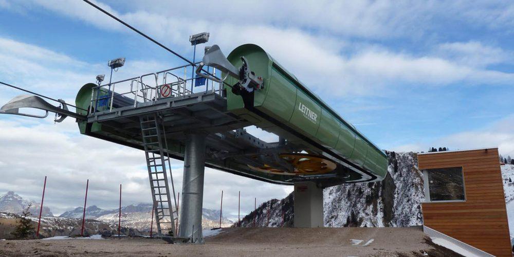 Seggiovia Ponte Vauz- La Viza